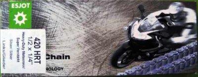 ESJOT Racing Kette DT50MX-S silber