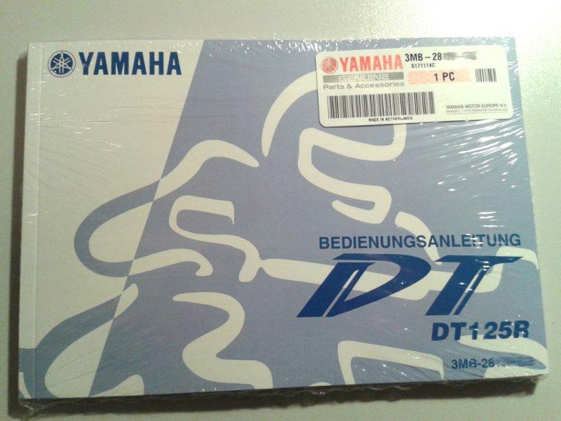 Bedienungsanleitung DT125R